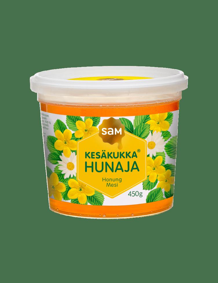 SAM_Kesakukka_450g_Juokseva_Hunaja