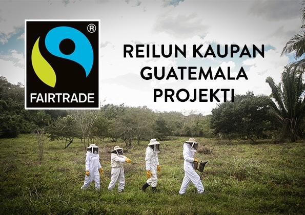 Hunajainen Sam | Suomen monipuolisin hunajavalikoima | Reilu Kauppa | Guatemala | Projekti