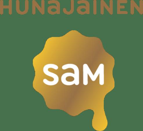 Hunajainen SAM Logo