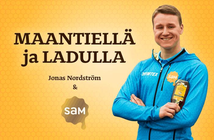 Hunajainen Sam | Suomen monipuolisin hunajavalikoima | Yhteistyö | Jonas Nordström