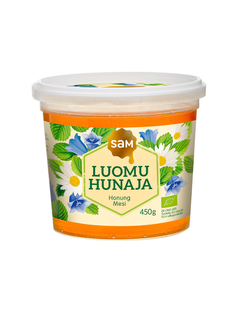 SAM_Luomu_450g_Juokseva_Hunaja