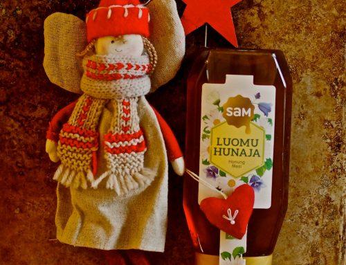 Hunajaiset pikkuleivät jouluun